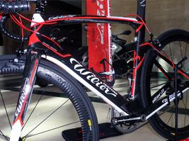 Wilier kerékpáros kiállítás